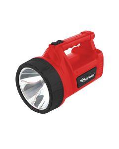 Linterna reflectora con 1 super led  y 12 leds laterales