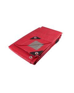Lona roja uso ligero 3m x 3m