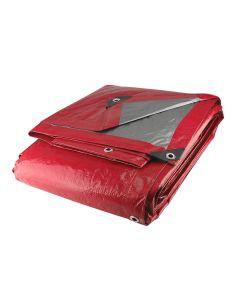 Lona roja uso ligero 6m x 12m