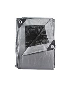 Lona gris uso ligero 3m x 3m