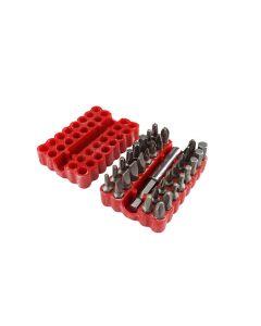 Juego de 33 puntas combinadas para desarmador
