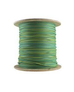 Cable ligero color verde 14 AWG, 500m