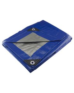 Lona premium azul 4 x 4 m