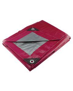 Lona premium roja 1.5 x 2 m