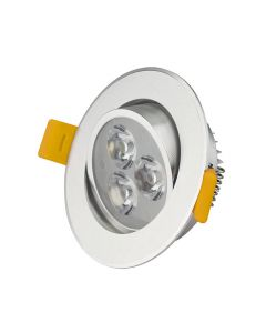 Reflector led empotrable 3W