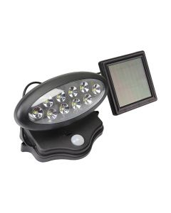Reflector led solar 10 leds sensor, 3W