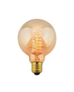 Foco vintage tipo globo, incandescente 35W