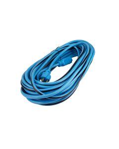 Extensión azul 3 conductores 15m