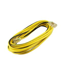Extensión amarilla 3 conductores, 7m