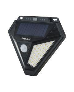 Luminario solar con alarma