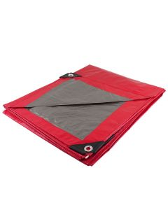 Lona roja uso ligero 2m x 3m