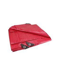 Lona roja uso ligero 3m x 4m