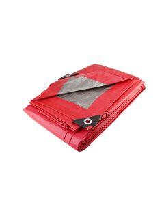 Lona roja uso ligero 4m x 5m