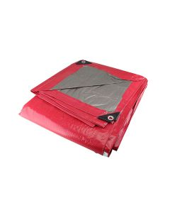 Lona uso ligero roja 5m x 6m