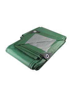 Lona verde uso ligero 2m x 3m