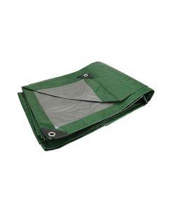 Lona uso ligero verde 5m  X 6m
