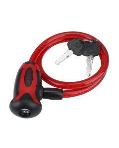 """Candado de cable 3/8"""" de llave para uso rudo"""
