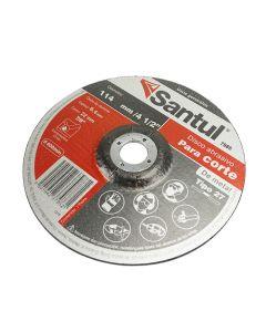 """Disco abrasivo para desbaste de metal 4 1/2"""""""